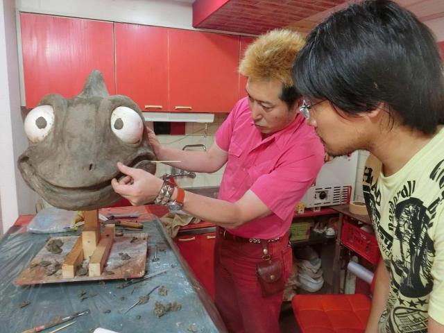 粘土原型は重要な造形の作業